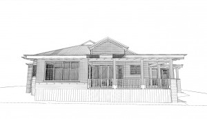 Villa Extension and Alteration, Prospectus Terrace
