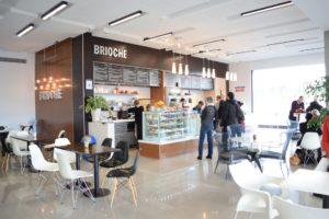 Cafe brioche fitout, Newmarket