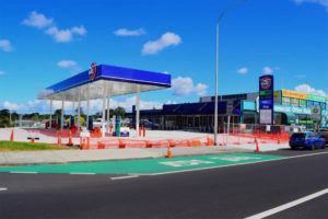 Retail Development Gas Station, Great South Road